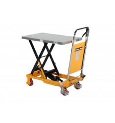 Stół podnoszący hydrauliczny z pompą nożną - 150kg