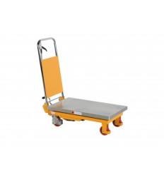 Wózek podnoszący hydrauliczny z blatem