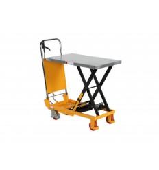 Wózek podnośnikowy hydrauliczny z blatem