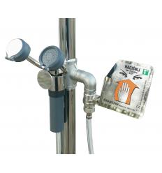 Prysznic bezpieczeństwa z natryskiem do oczu G01