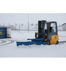 Pług śnieżny do wózka widłowego 1500 mm