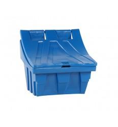 Pojemnik na sól i piasek 150 kg, niebieski