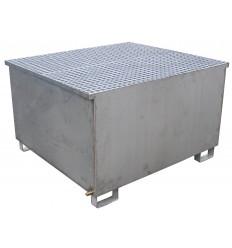Wanna ociekowa kwasoodporna - 1000 l. - na 1 pojemniki IBC