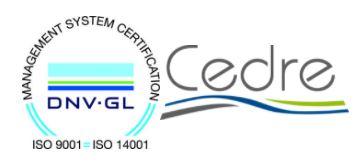 certyfikat Cedre