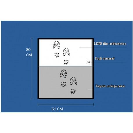 Zestaw uzupełniający do antybakteryjnej maty wejściowej - Two Steps